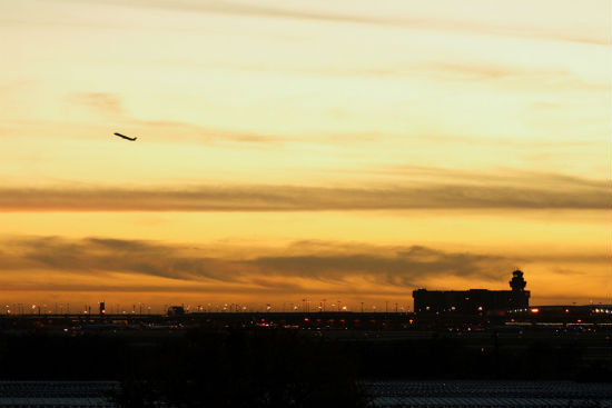 DFW-Airport-at-Dusk