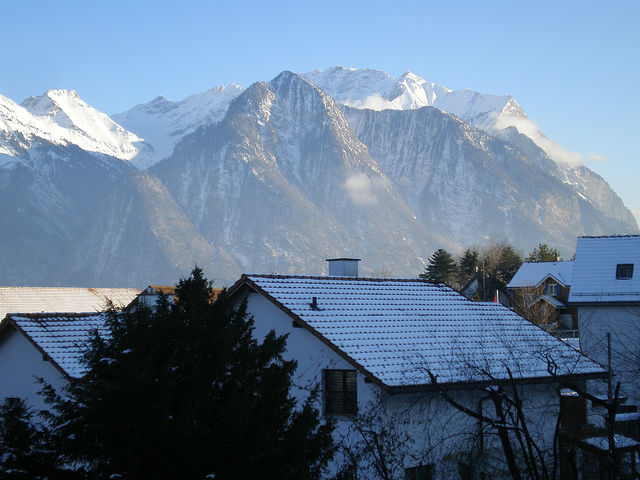 View from Sargans