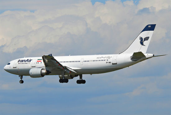 Iran Air alcohol