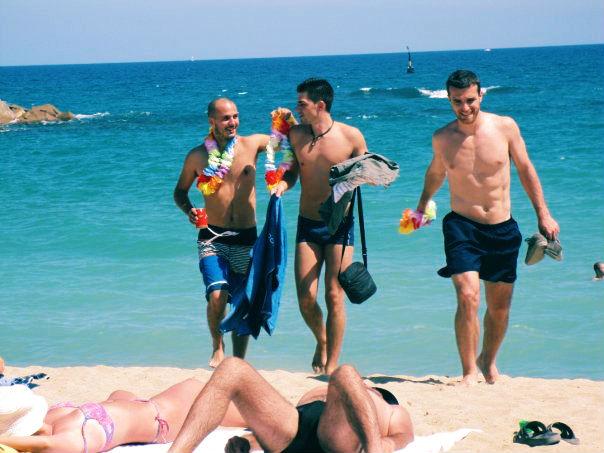 Best Beach in Barcelona - Gays in Mar Bella Beach