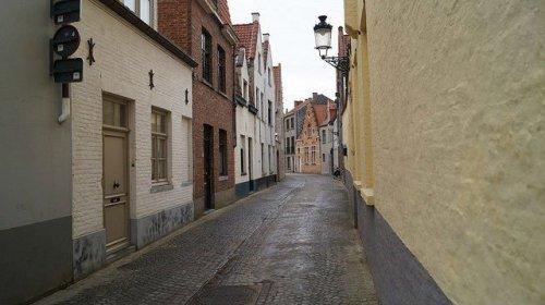 Bruges Belgium - A street in Bruges