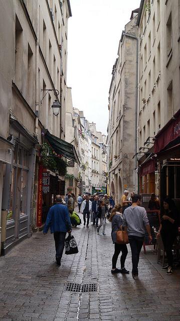 Paris France - Parisian street