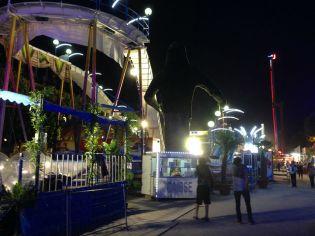 Paris France - Tuileries Gardens Amusement Park