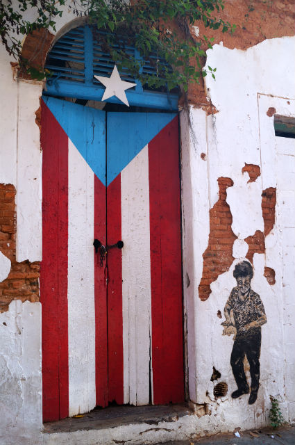 Discovering San Juan Puerto Rico - Picture of Puerto Rican Flag
