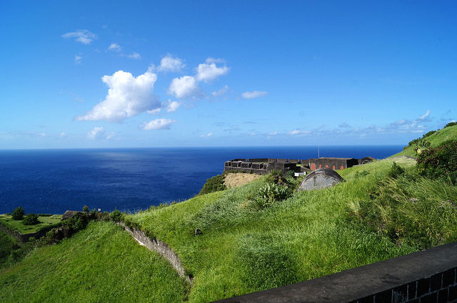 The Island Tour of St. Kitts - Fort in Brimstone Hill Fortress