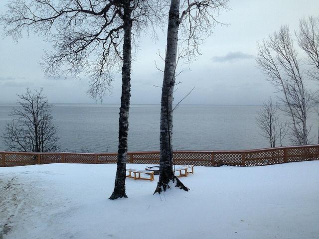 My Mini Minnesota Trip - Lake Superior with snow