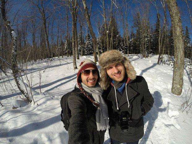 My Mini Minnesota Trip - Roman and I on Moose Mountain