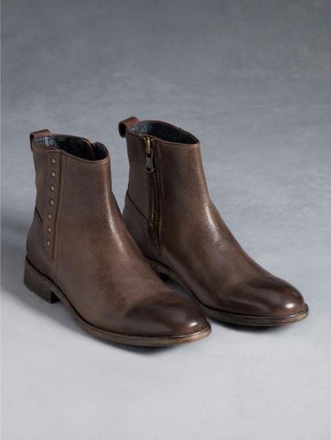 Stylish Mens Boots for Traveling - 2015 - John Varvatos Rocker Button