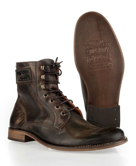 Stylish Mens Boots for Traveling 2015 - Superdry Logan Boot