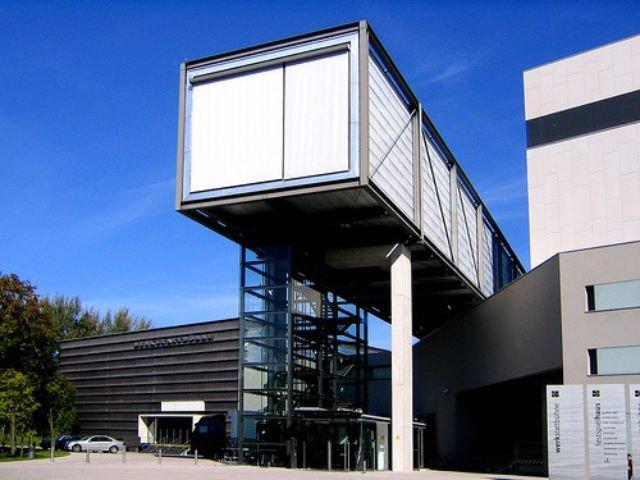 A Daytrip to Bregenz Austria - Bregenzer Festspiele entrance