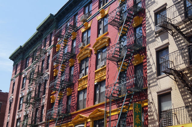 My Weekend in New York City - Buildings of Chinatown