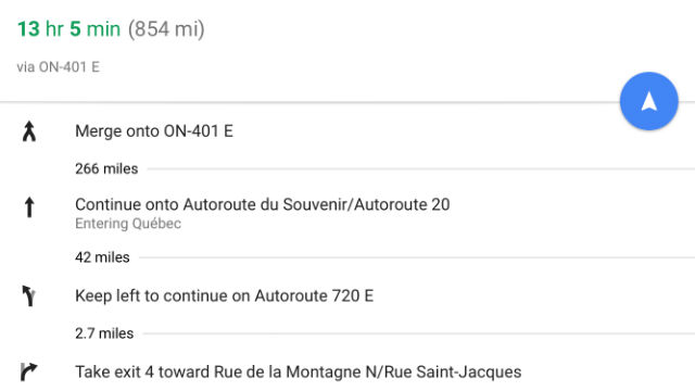 The Best Road Trip Hacks I've Learned - Smartphone Google Maps