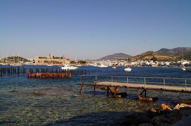 A Day in Bodrum Turkey - Bodrum Harbor