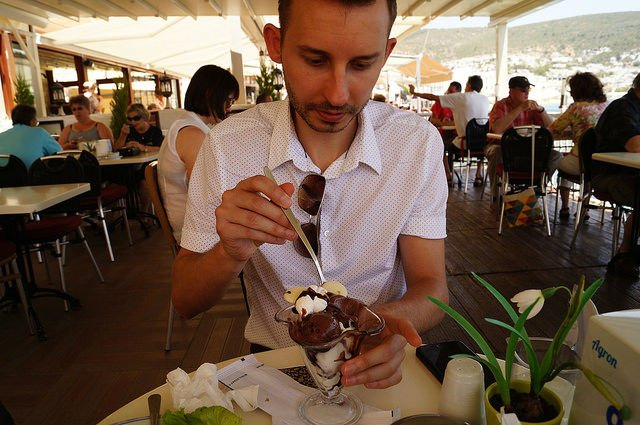 A Day in Bodrum Turkey - MADO icecream