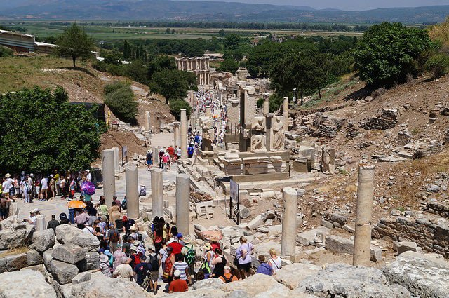 My Day at Ephesus and Kusadasi Turkey - Overview of Ephesus