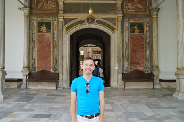 My Tips for Istanbul Turkey - Shawn at Topkapi Palace