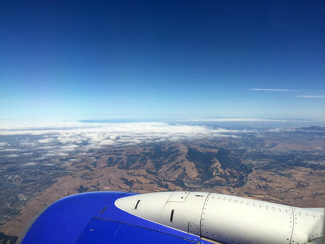 My First Time in San Francisco - Flying into San Francisco