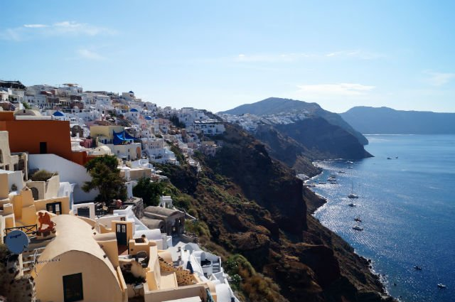Stunning Santorini Greece - The Santorini coast