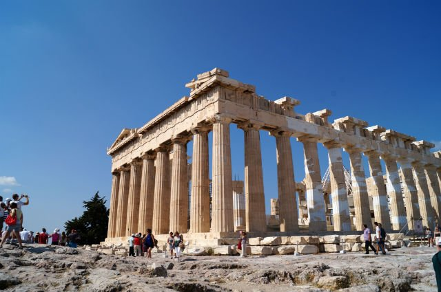 Sunday in Athens Greece - Parthenon