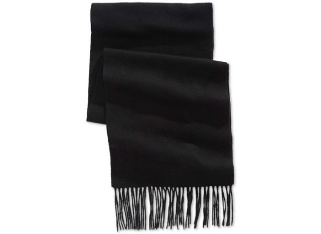 Manly Scarves for Travel - Solid Cashmere Scarves Club Room