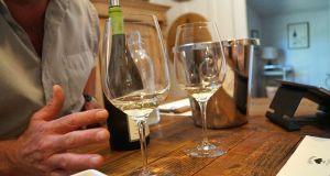 Napa Valley - White wines at Casa Nuestra Winery