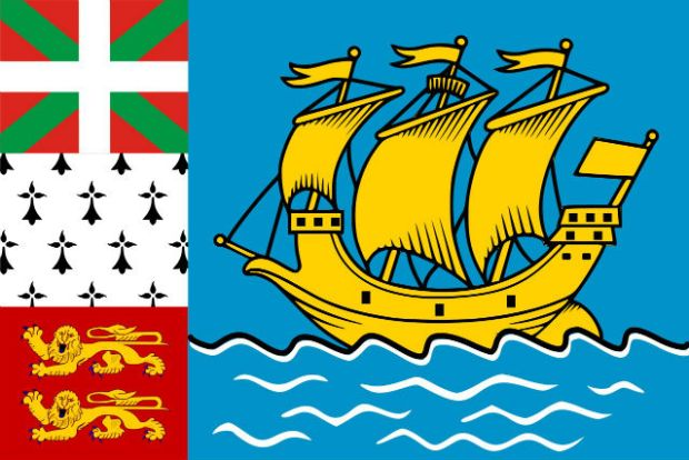 The Oddity of Saint-Pierre and Miquelon - Flag of Saint-Pierre and Miquelon