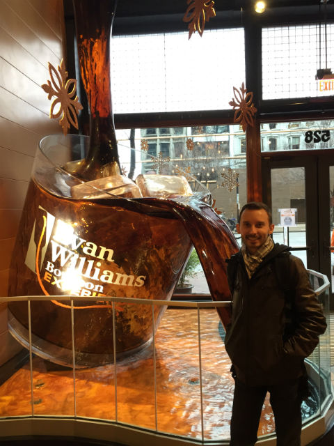 Kentucky - Shawn at Evan Williams Bourbon Experience