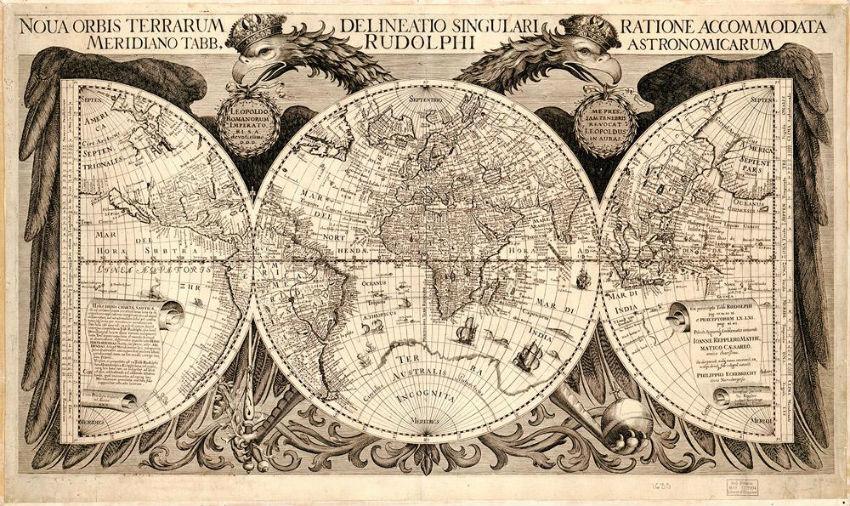 Map of the World Philipp Eckebrecht