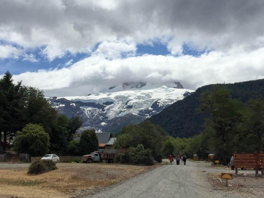 Cerro Tronador near the base