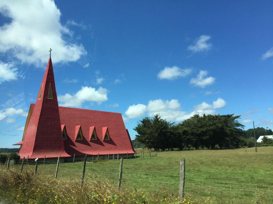 Chilean Church near Puerto Varas