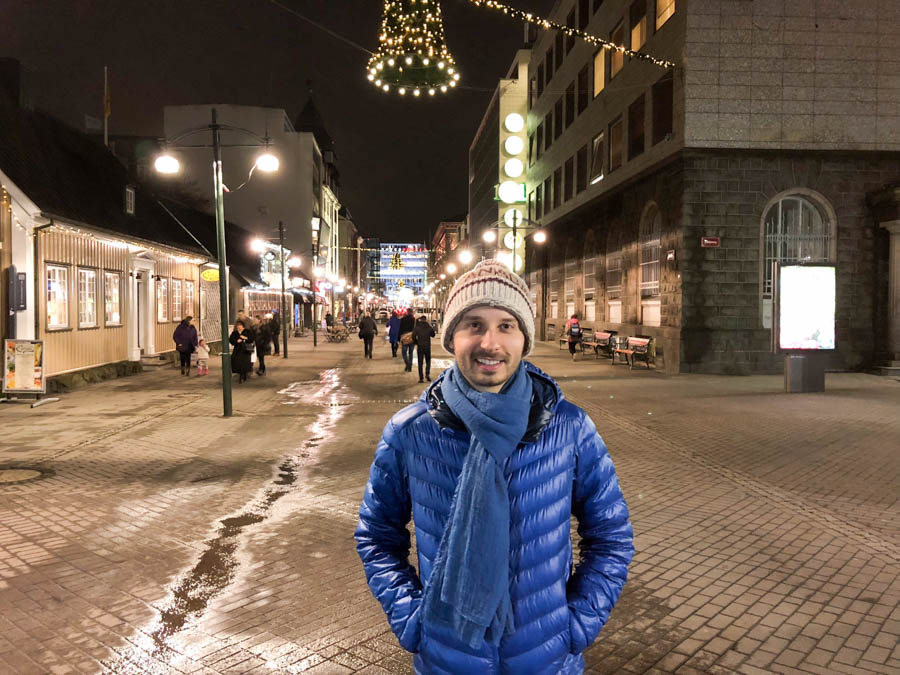 First Night in Reykjavik