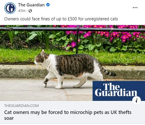 how guardian change social media post image