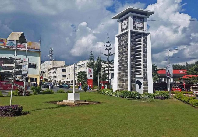 Arusha and it's famous Clock Tower