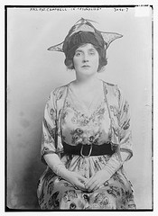 Mrs Patrick Campbell as Eliza Doolittle in 1914