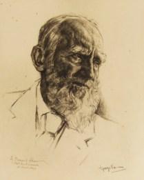 George Bernard Shaw by George Lormy