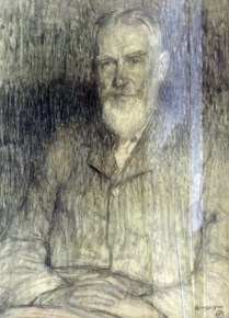 Charcoal drawing by Leon de Smet