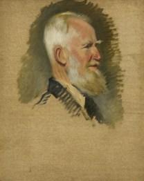 Unfinished portrait by Sir William Rothenstein
