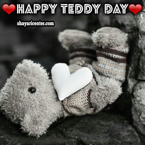 beautiful status for teddy day in hindi