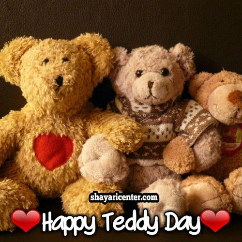 shayari of happy teddy day whatsapp status