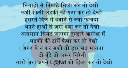 no veg shayari hindi
