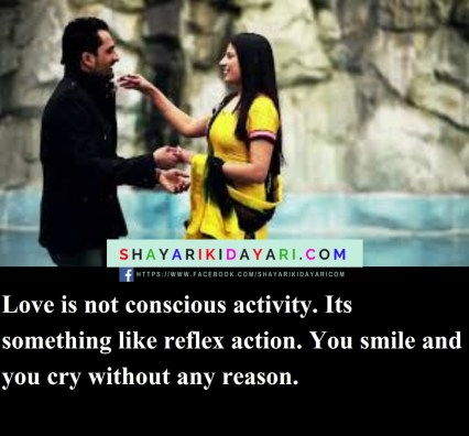 Love is not conscious activity, quotes about crying and strength