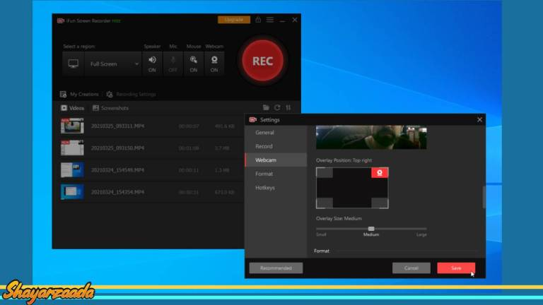 How to do screen recording in computer with iFun Screen Recorder?