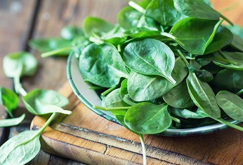 Spinach Leaves Have Medicinal Properties
