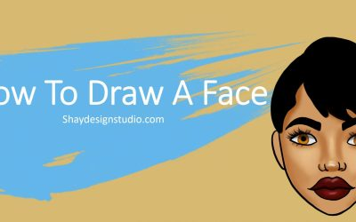 How To Draw A Face Step-By-Step