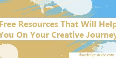 Resources To Help Jump Start Your Creative Journey