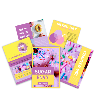 Sugar Envy Ebook Template (Canva)