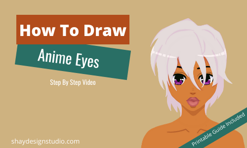 How To Draw Anime Eyes (Part 1)