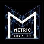 metric brewing geometric logo