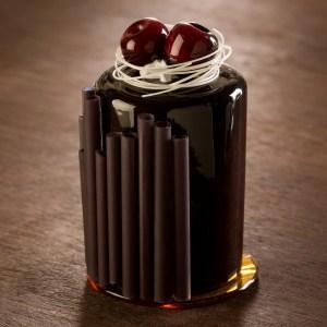 Cerise au chocolat noir