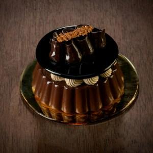 Gateau au chocolat et moka